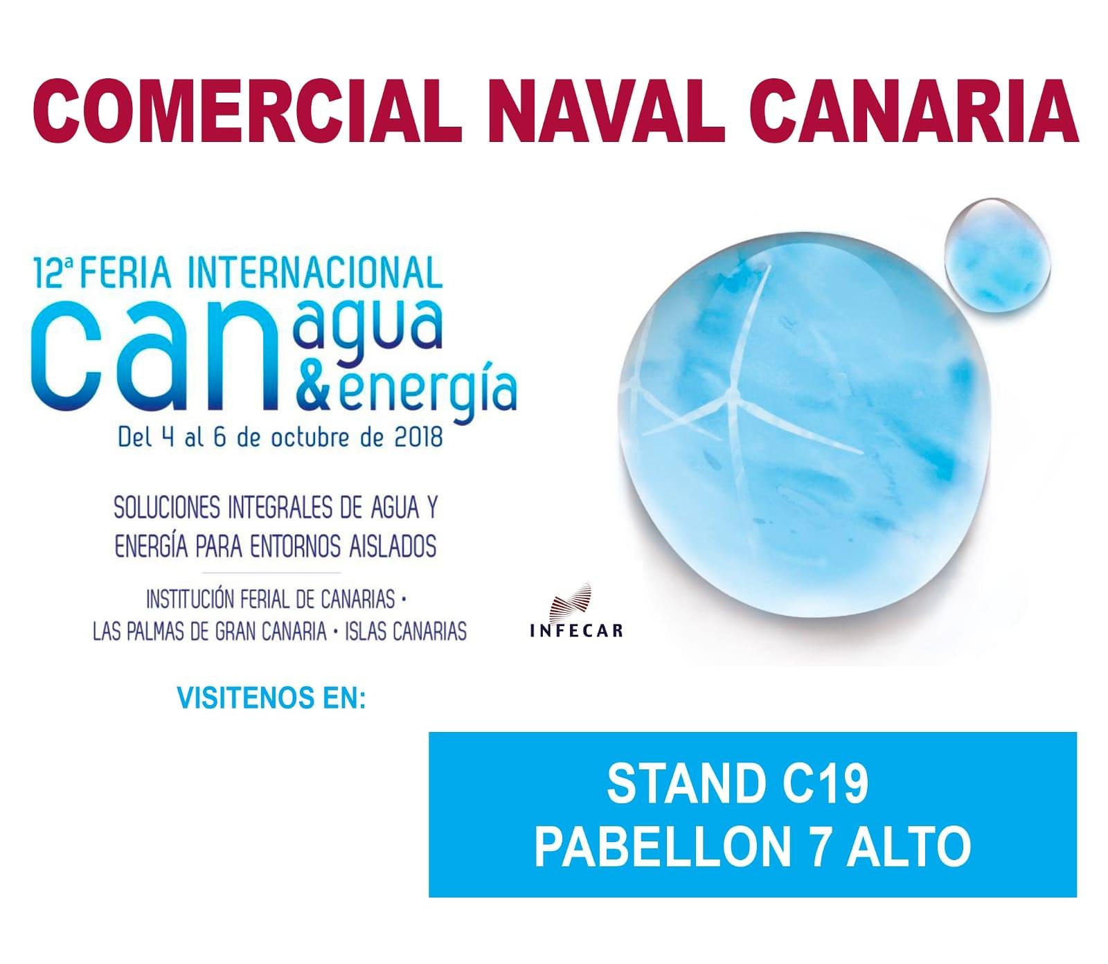 canagua comercial naval